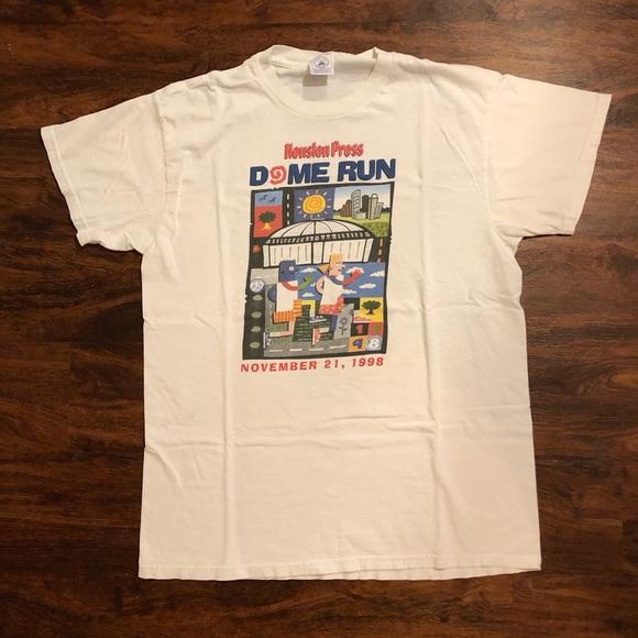 Vintage Other - Vintage Houston running shirt
